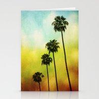 4 Palms Stationery Cards