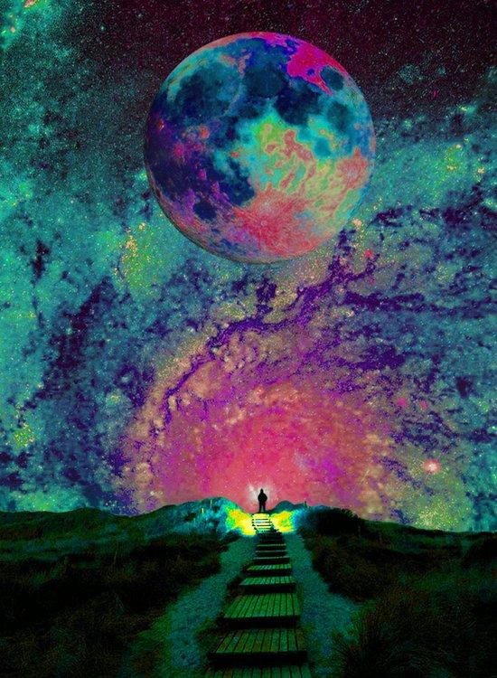Cosmic Shore Art Print