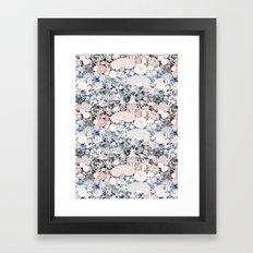 Japanese teahouse Framed Art Print
