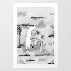 Blancontrol Art Print