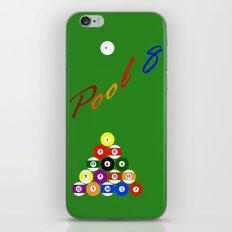 Pool 8 iPhone & iPod Skin