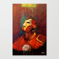 Iron Canvas Print