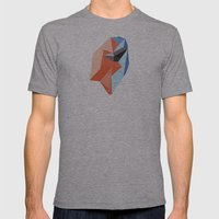 Bound Together Mens Fitted Tee Athletic Grey SMALL