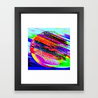 Sunspots Framed Art Print