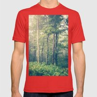 Inner Peace Mens Fitted Tee Red SMALL