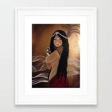 Agas: Medicine Woman Framed Art Print