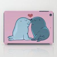 Seal Kisses iPad Case