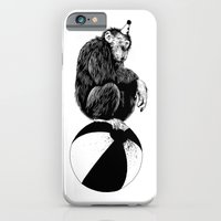 iPhone & iPod Case featuring Chimp by Tom Kitchen