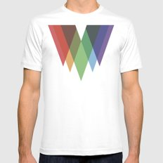 Eingang durch das Dach SMALL White Mens Fitted Tee