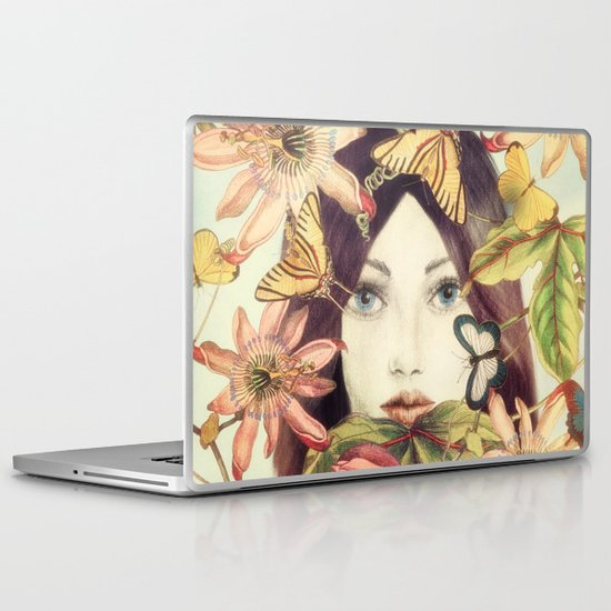 Whispers From A Secret Garden Laptop & iPad Skin