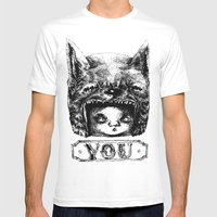 YOU Mens Fitted Tee White SMALL