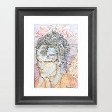 Ricordi Di Sogni Lontani Framed Art Print