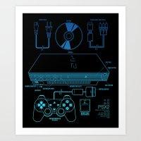 PSX 2 Art Print