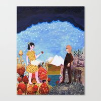 The Two Girls Canvas Print