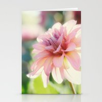 Dahlia 1 Stationery Cards