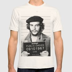 Public Order Che Guevara Mens Fitted Tee Natural SMALL