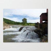 dillard mill 2016 VIII Canvas Print