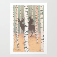 Fantasy Print, Folk Art … Art Print