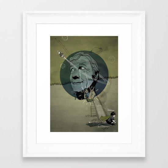 Emulsion Framed Art Print