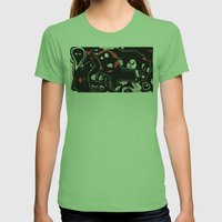 nightmare Womens Fitted Tee Grass SMALL