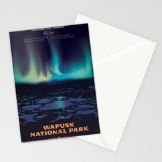 Wapusk National Park Poster Stationery Cards