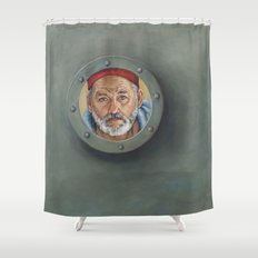 Bill Murray / Steve Zissou / Wes Anderson  Shower Curtain
