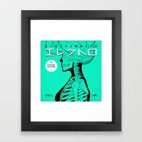 Electro - Japanese Versi… Framed Art Print