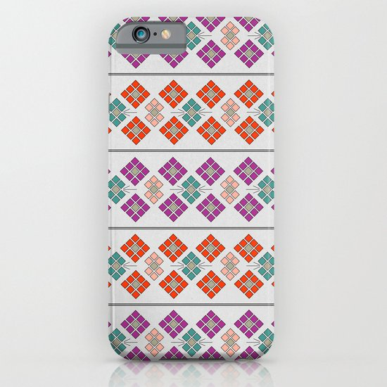 Geometric Flowers iPhone & iPod Case