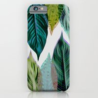 Green Leaves iPhone 6 Slim Case