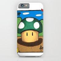 1Up Super Mario iPhone 6 Slim Case