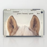 Grace, Beauty, Spirit & Fire iPad Case