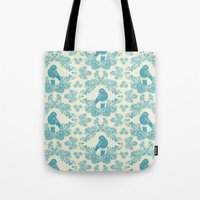 Mexican Parrot Tote Bag