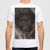 Dead Wood Mens Fitted Tee Ash Grey SMALL