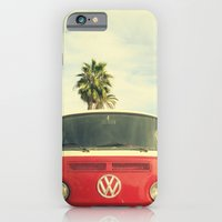 vw iPhone & iPod Cases featuring VW Coastin' by RichCaspian