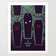 The Premature Burial Art Print