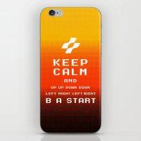keep calm konami. iPhone & iPod Skin