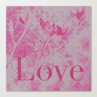 Love Me! Canvas Print