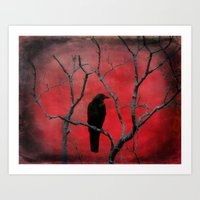The Color Red Art Print