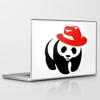 panda Laptop & iPad Skins featuring Panda by ArtSchool