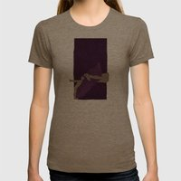Journey Womens Fitted Tee Tri-Coffee SMALL