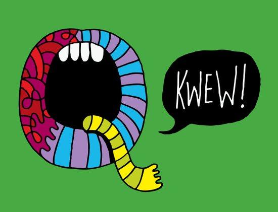 Kwew! Art Print