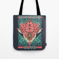 Hunting Club: Pink Rathian Tote Bag