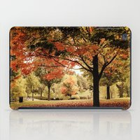 Red Maple In Larz Anders… iPad Case