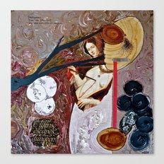Deathgown Canvas Print