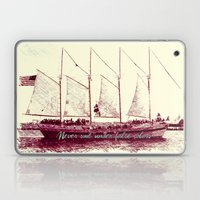 Never sail under false colors Laptop & iPad Skin