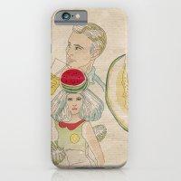 melon, watermelon and lemon iPhone 6 Slim Case