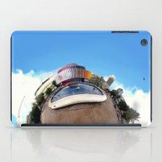 Around Tel Aviv Stereographic Panorama of Dizengoff Center iPad Case