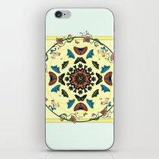 Butterfly Garden Abstract Collage iPhone & iPod Skin
