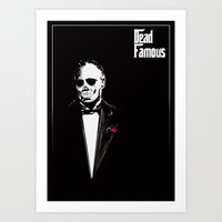 Dead Famous #1 Art Print
