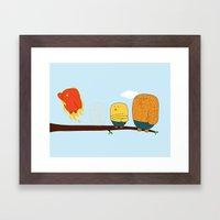 The Fantastic Four Framed Art Print